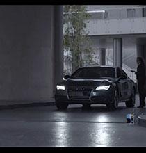 Akıllı Araba Kendini Park Ediyor