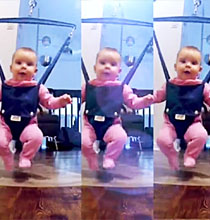 Dünya Bu Bebeğin Dansını Konuşuyor